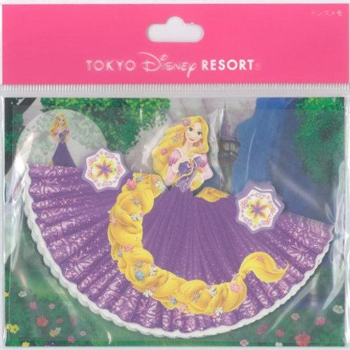 Tokyo Disney Exclusive :  Tangled Rapunzel 3D folding Origami Memo Pad