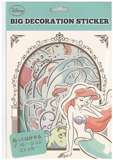 Decoration Sticker Collection - Little Mermaid Ariel Big Decoration Sticker