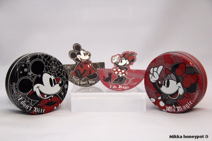 Halloween Special : Mickey & Minnie Memo Tin Set