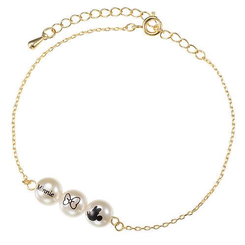 Bracelet series :  Minnie Pearl Bracelet