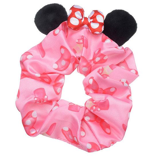Scrunchie Hair Decoration : Minnie Pony Hair Stuffy Ear Scrunchie