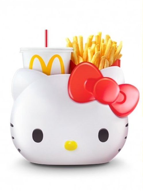 Home Decoration Collection- Singapore Exclusive Hello Kitty MacDonald Carrier
