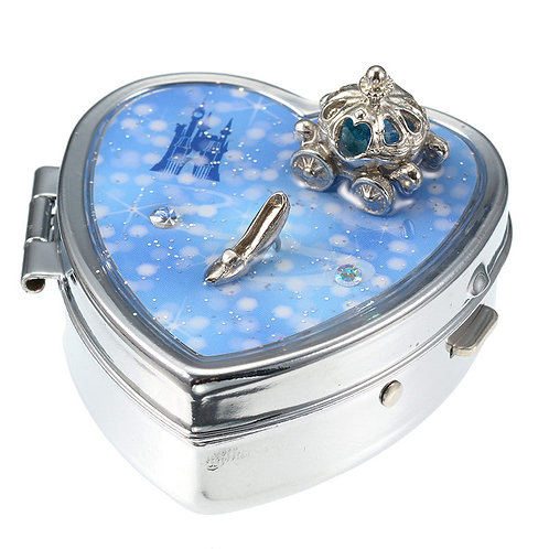 Jewel Box with Earring series :  Cinderella