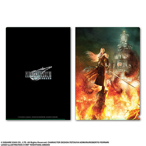 File Collection - Final Fantasy VII remake Metallic File Sephiroth ( 01pc )