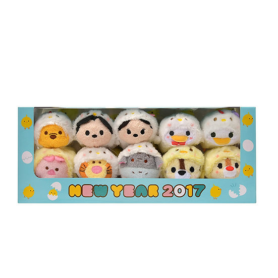Tsum Tsum Set Collection - Rooster Tsum Tsum series 2017 Box Set