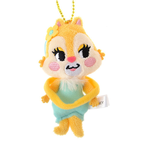 Plushie Keychain Collection -  Chip & Dale : Clarice Cheeky Plushie Keychain