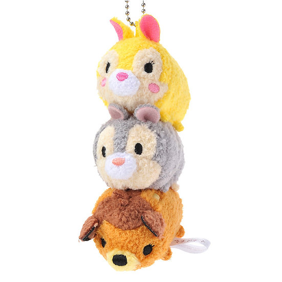 Tsum Tsum Stack Stack-Bambi & Thumper & Miss Bunny