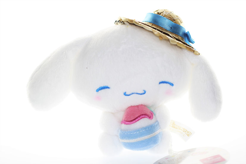 Plushie Keychain Series:  Kiddyland Exclusive Summer Cinnamoroll ice
