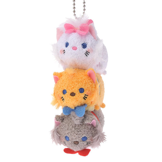 Tsum Tsum Stack Stack- Marie Cat and Friend
