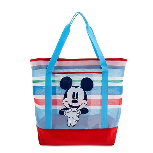 Summer Fun Series : Mickey Mouse Large Tote Bag