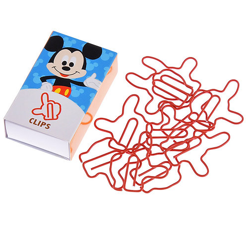 Clip series -  Mickey Paper Clip