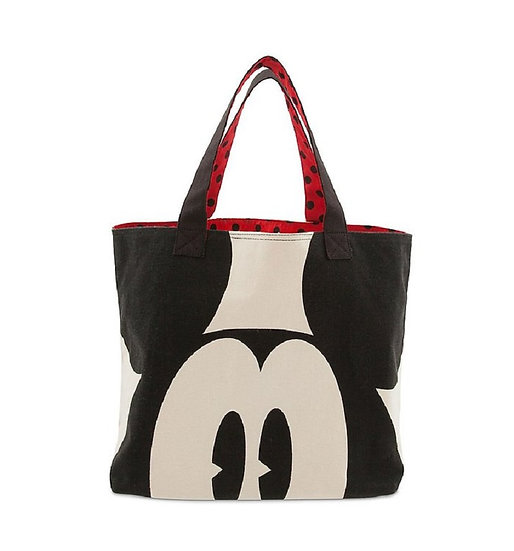 Funny Face Series : Mickey Mouse Large Tote Bag