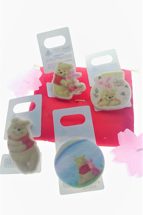 Badge Pin Collection - Winnie the Pooh Puffy Sunshine Badge