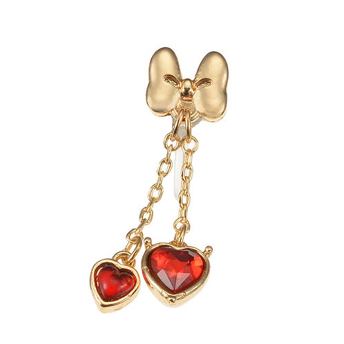 Earring Collection : Love Minnie Red Heart Earring