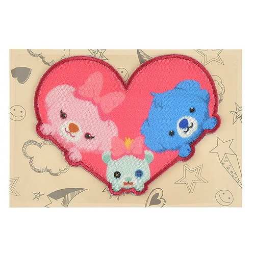 Embroidery DIY Sticker Collection - Stitch & Angel with scrump Unibearsity