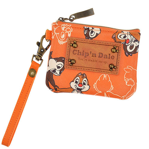 Coin Pouch Collection : Leather Retro Chip & Dale Coin Purse