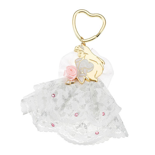 Ring Keychain collection - Disney Classics Little Mermaid Wedding Keychain