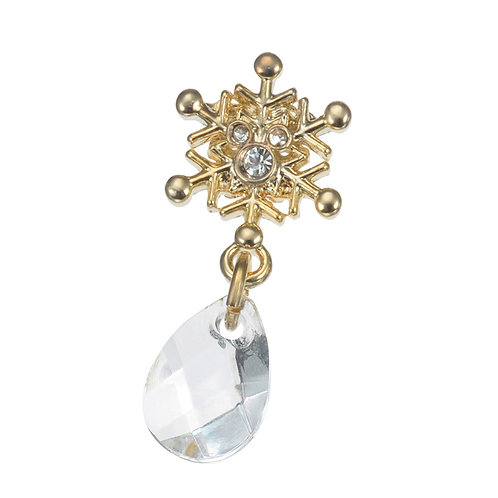 Earring Collection :  Christmas frozen Elsa snowflake earring