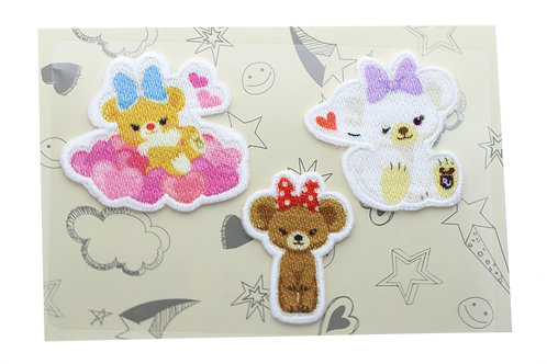 Embroidery DIY Sticker Collection - Unibearsity  Embroidery Set