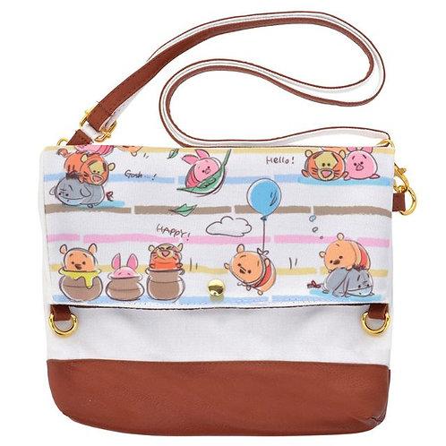 Shoulder Bag Collection : Winnie the Pooh Tsum Tsum 3-way Bag