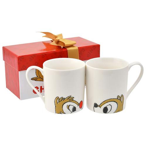 Chipamp; Music Christmas SetStaineddiscount Mug Collection Box Dale DYEWH29eI