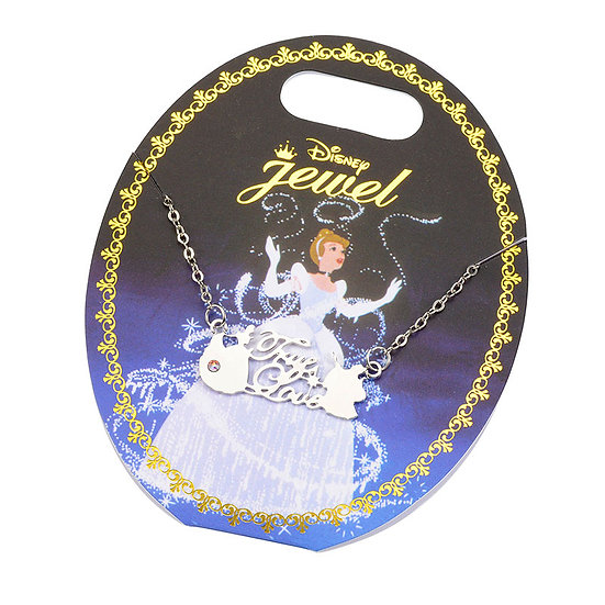 My Favorite Story word Cinderella Necklace