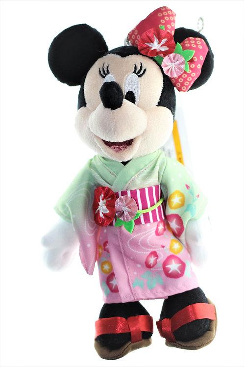 Plushie Keychain Series: Disneyland Summer Minnie Yukata