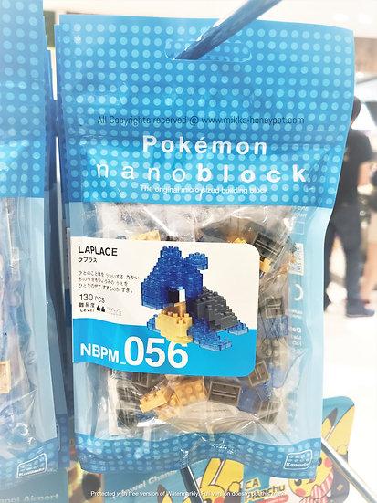 Pokemon [PO]- Singapore Jewel Changi Airport Exclusive Lapras Nanoblock