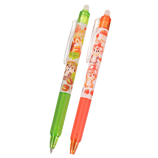 Frixion Series : CHIP'N'DALE ORGANIC PARTY 0.5 Frixion Pen Set