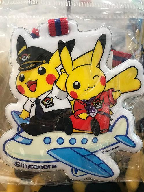 Pokemon [PO]- - Singapore Exclusive Pikachu  Pilot and Cabin Attendant