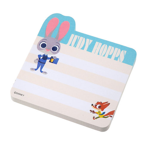 Sticky Pad Series: Zootopia sticky memo pad