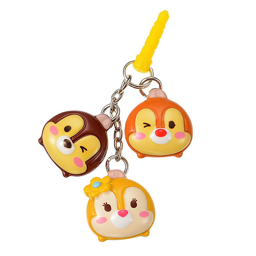 DUST PLUG - Chip & Dale with Clarice Tsum Tsum Candy Dust Plug