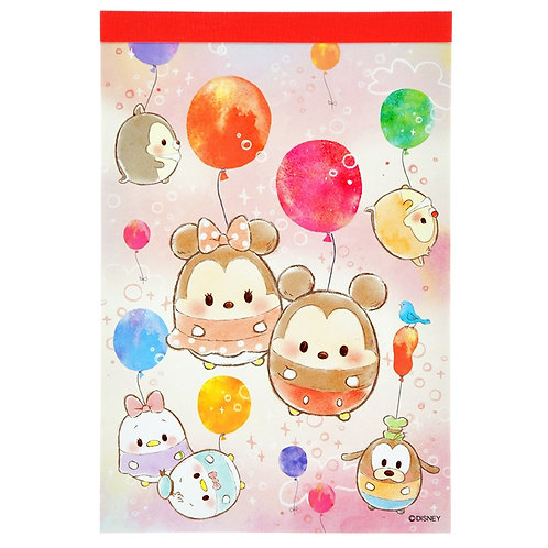 Memo Collection  - Disney ufufy Friendship A6 Memo Pad
