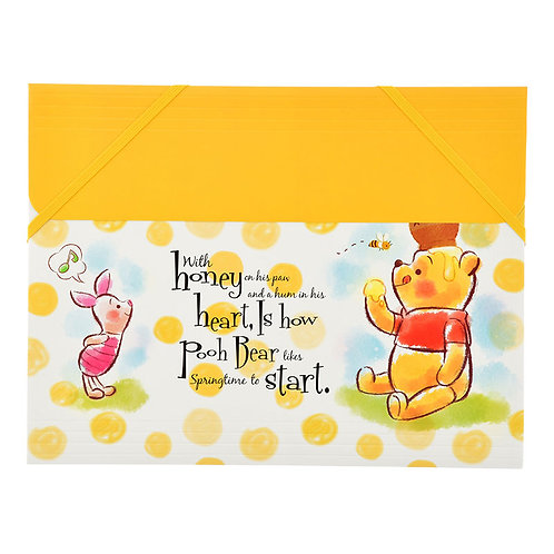 Paper File Case Series: A4 File Case - Winnie The Pooh Afternoon Perfect