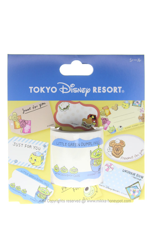 Sticker Roll Collection -Tokyo Disney Resort food label Sticker Roll