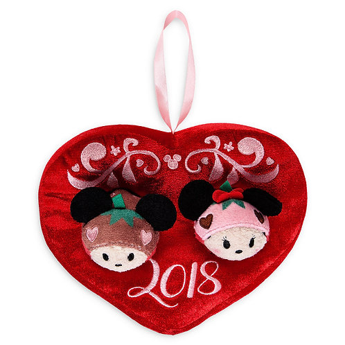 DISNEY TSUM TSUM DECORATION - Mickey and Minnie Valentine Love chocolate 2018