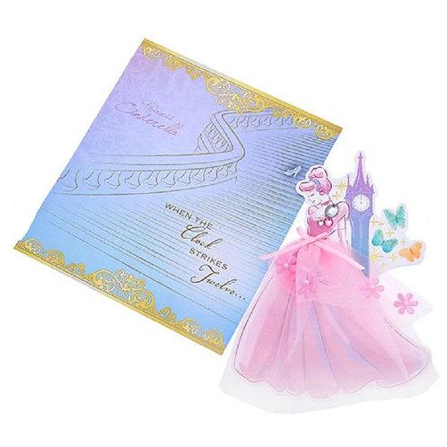 Cinderella blessing card