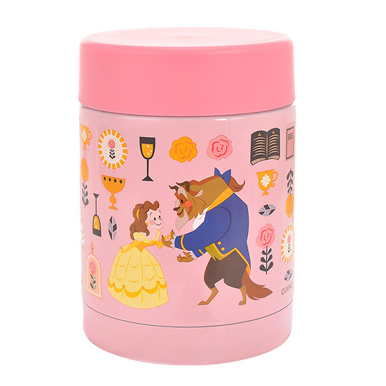 Stainless Mug series : Story Book Series Soup Stainless Jar -Beauty & the Beast