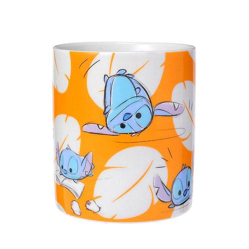 Tsum Tsum Sketch Mug Series : Stitch & Angel
