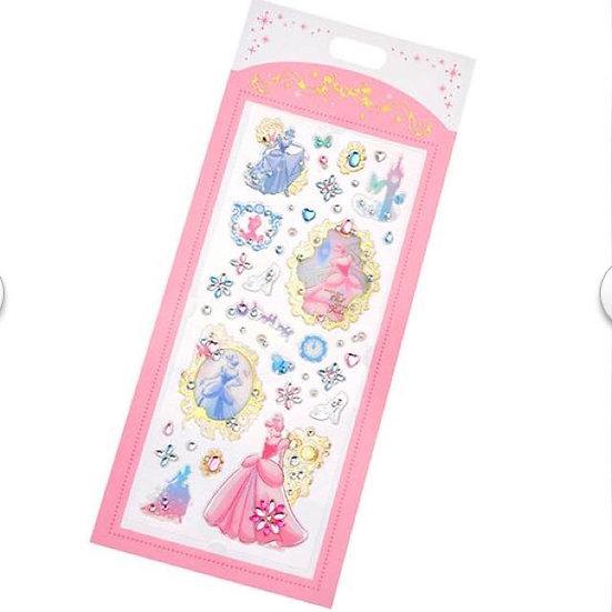 Long Pack Sticker Collection - Stone sticker Jewel Cinderella