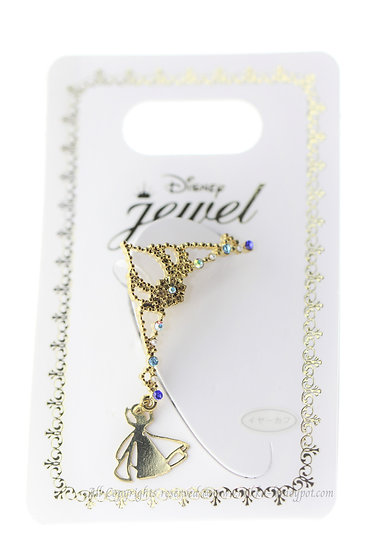 Ear Hook Earring Collection : Frozen Elsa Crown Ear Hook Clip