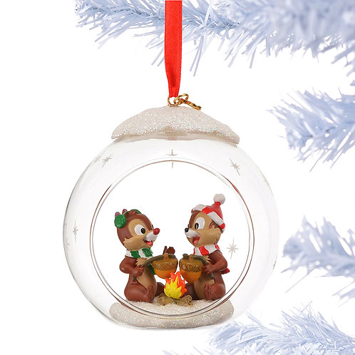 Home Decoration - Chip & Dale Glass Ball Ornament Collection 2015