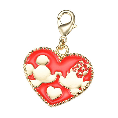 Charm Series - Mickey & Minnie Love charm