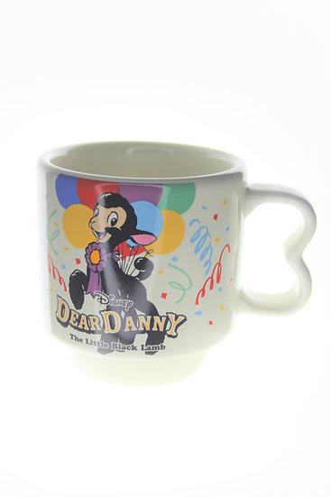 Mug Collection Homeware - Japan Disneyland Dear Danny The Little Black Lamb Cup