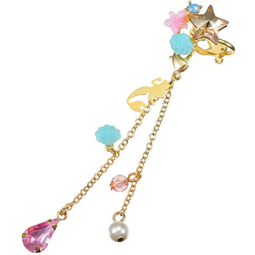 Clip Earring Collection :  2 way earring Little Mermaid Ear Dress