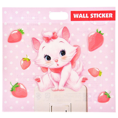 Wall sticker collection - Marie Cat Strawberries wall sticker