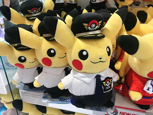 Pokemon [PO]- - Singapore Exclusive Pikachu  Pilot