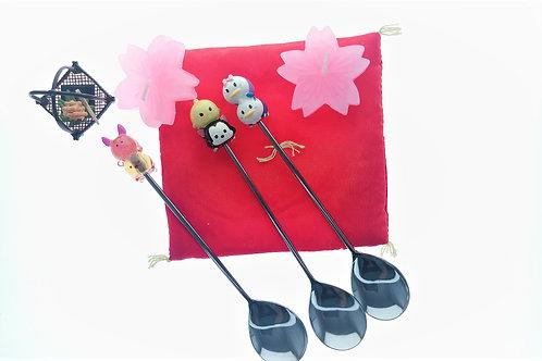 Kitchen Cutlery Homeware - Winnie The Pooh / Donald / Figaro Tsum Tsum Spoon