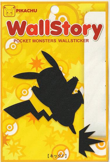 Wall sticker collection - Wall Story Pikachu kick Wall sticker