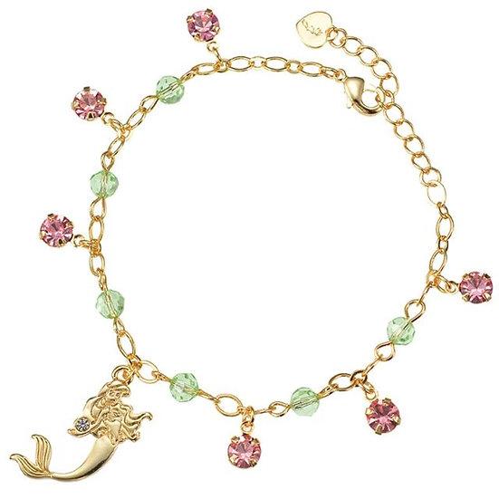 Bracelet series :  The Mermaid Ariel Shinny Stone Bracelet
